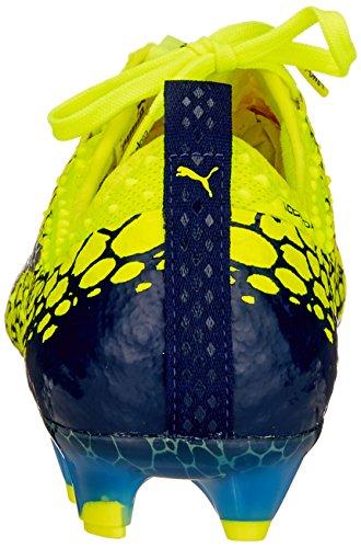 Puma Herren Evopower Vigor 1 Grafico Fg Fußballschuhe Gelb (profondità Giallo-argento-blu Di Sicurezza)