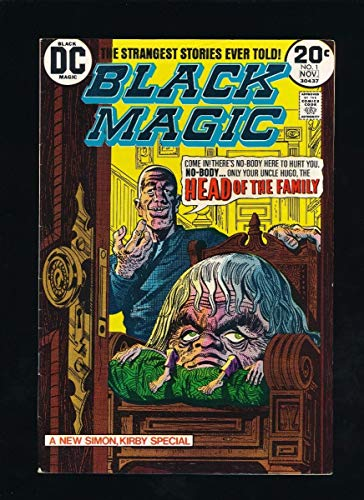 BLACK MAGIC #3 PRIZE PUBLICATIONS 2-3/51 JACK KIRBY COVER ART *UNPRESSED* ()