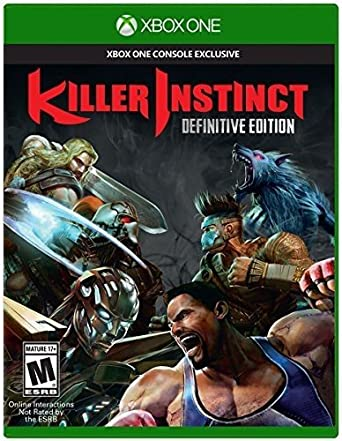 Killer Instinct - Definitive Edition for Xbox One: Amazon co