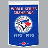Toronto Blue Jays World Series Championship Dynasty Banner - with hanging rod