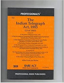 Indian Telegraph Act, 1885