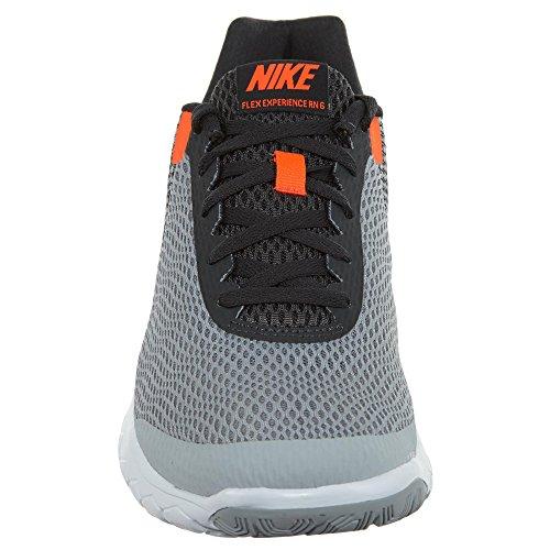 Nike Heren Flex Ervaring Rn 6 Loopschoenen Wolf Grijs / Totaal Karmozijn