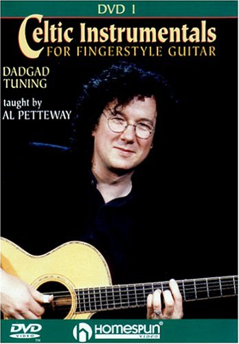 DVD-Celtic Instrumentals For Fingerstyle Guitar #1-DADGAD Tuning by Homespun
