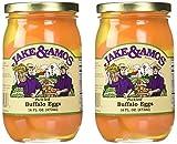 Jake & Amos - Pickled Buffalo Eggs / 2 - 16 Oz. Jars
