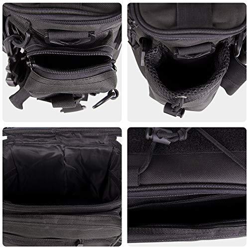 Fishing Waist Pack Shoulder Bag Tackle Bag Tear-Resistant Adjustable Belt