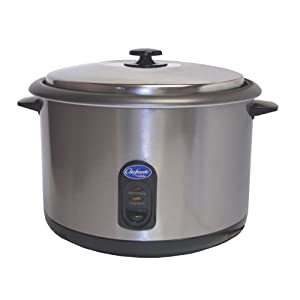 Globe RC1 Chefmate 25-Cup Countertop Rice Cooker