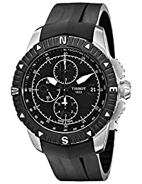 Tissot Men's T062.427.17.057.00 Black Dial Watch