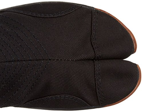 Zapatos Ninja Jikatabi acolchonado (Air Cushion) 12 Clips - Directo de Japon (Marugo) Negro