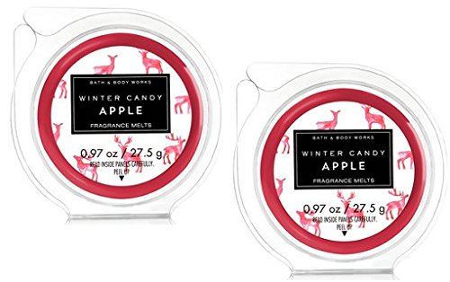Bath and Body Works 2 Pack Fragrance Melt. Winter Candy Appl