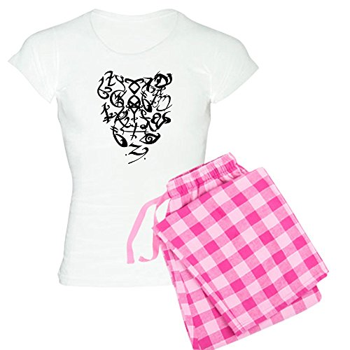 CafePress A Shadowhunter(s) Heart - Women's Light Pajamas Womens Novelty Cotton Pajama Set, Comfortable PJ Sleepwear