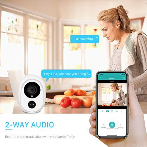 Low-Power Battery 1080P Wireless Surveillance Camera
