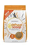 sWheat Scoop Premium+ Cat Litter Clumps, 10 lb