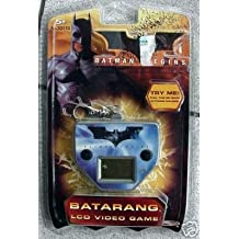 Batman Begins Batarang LCD Video Game with Attached Keychain Clip