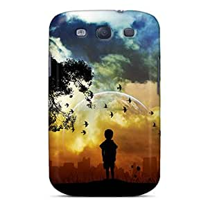 Pchcase UHL2200DlNh Case For Galaxy S3 With Nice Waiting For U Appearance