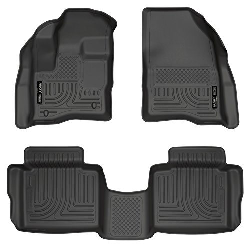 - Husky Liners Front & 2nd Seat Floor Liners (Footwell Coverage) Fits 10-18 Taurus