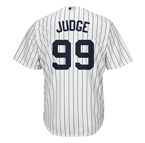 Aaron Judge New York Yankees Mens Majestic Home Replica Cool Base Player Jersey (4X-Large) ()