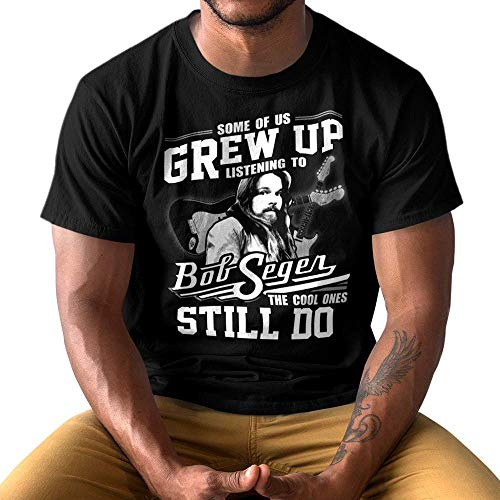 8f8e3292 Amazon.com: Vintage-80s Bob-Seger Final-Tour-2019 Quote-Meme  Some-Of-Us-Grew-Up-Listening-To-Bob-Seger-The-Cool-Ones-Still-Do Customized  Handmade T-shirt ...
