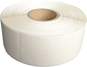 L LIKED Blank White 1 x 2 Inch Dissolvable Labels for Food Rotation Prep roll of 500 (1 Rolls)