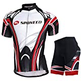 Sponeed Men's Road Cycling Jersey Suits Fresh Bicycle Wear