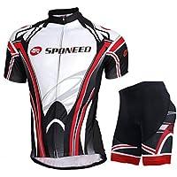 Ciclismo Jersey, sponeed ropa de hombre MTB Ciclismo Carretera Ciclismo Shorts acolchado