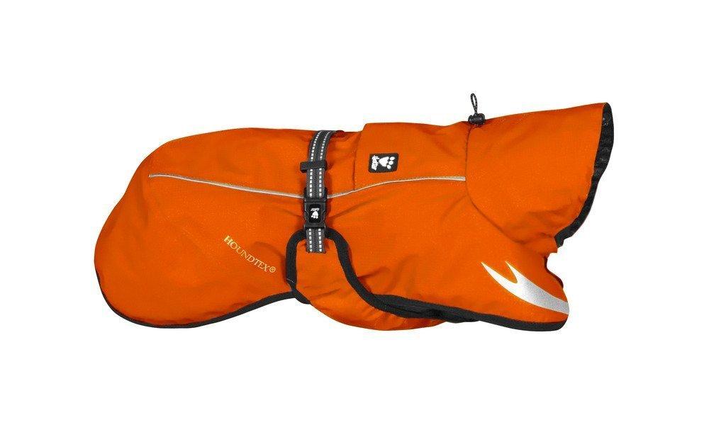 Hurtta Torrent Coat, Dog Raincoat, Orange, 24 in