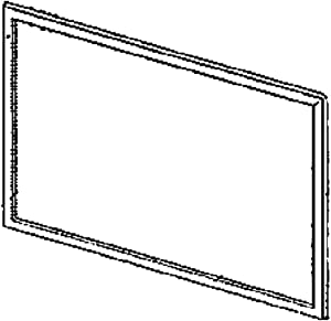 Kenmore 30123-0005100-01 Refrigerator Freezer Door Gasket (Silver) Genuine Original Equipment Manufacturer (OEM) Part