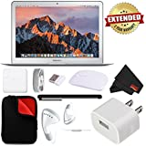 Apple 13.3 MacBook Air 128GB SSD MQD32LL/A (Mid 2017 Version, Silver) 1.8 GHz Intel Core i5 Dual-Core BUNDLE w/2 Year Extended Warranty