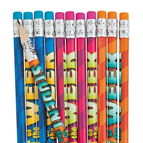 Student of the Week Pencils, 24 Count
