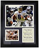 #7: Legends Never Die Dallas Cowboys Aikman, Irvin and Smith Framed Photo Collage, 11x14-Inch