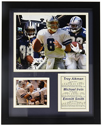 Legends Never Die Dallas Cowboys Aikman, Irvin and