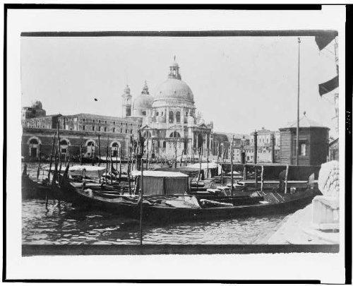 Photo: Grand Canal,Santa Maria della Salute,Chiesa di S,cathedrals,Venice,Italy,1905