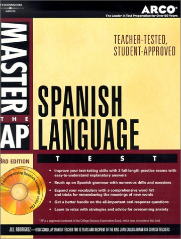 Master AP Spanish, w/ audio CDRom 3rd ed by Arco