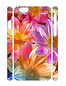Personalized Florals Eco TPU Phone Protective Case for Iphone 6 Plus 5.5 Inch