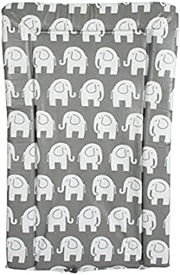 My Babiie From Birth Baby Changing Mat Grey Elephants