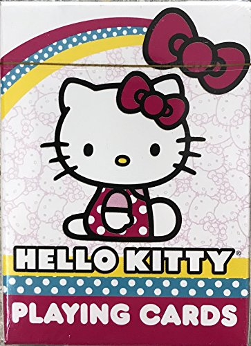 Disney & Licenses Playing Cards For All Ages and All Occasions (Hello Kitty)