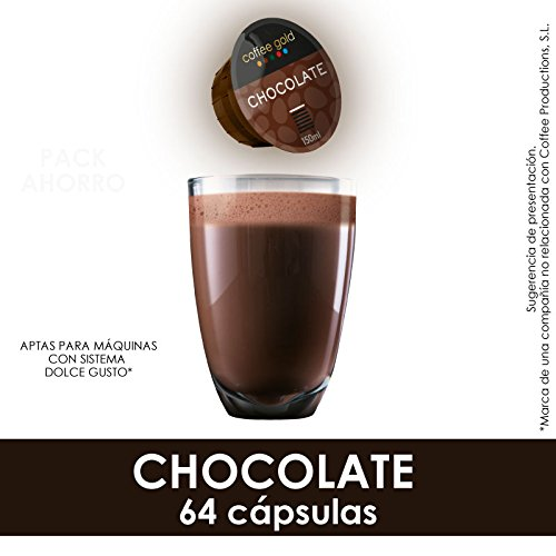 CHOCOLATE | x64 - Aptas máquinas Dolce Gusto®: Amazon.es ...