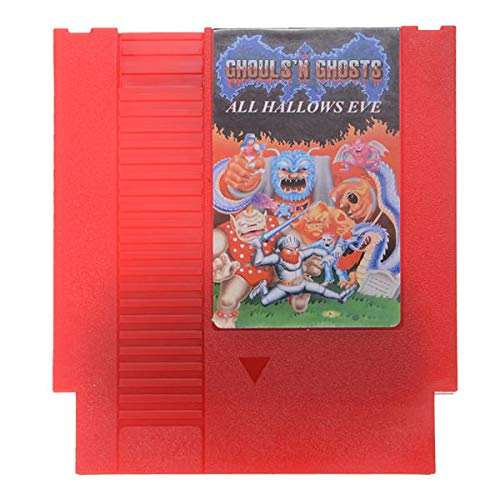 All Hallow's - Ghosts'n Goblins 72 Pin 8 Bit Game Card Cartridge for NES - Retro Games Accessories Cartridge For Nintendo - 1 x All Hallow's Eve - Ghosts 'n Goblins Game Cartridge]()