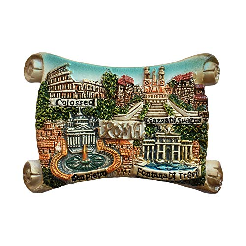 - Rome Roma Italy 3D Refrigerator Magnet Travel Sticker Souvenirs Home & Kitchen Decoration Roma Fridge Magnet from China