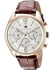 Tommy Hilfiger Mens 1791183 Sophisticated Sport Analog Display Quartz Brown Watch