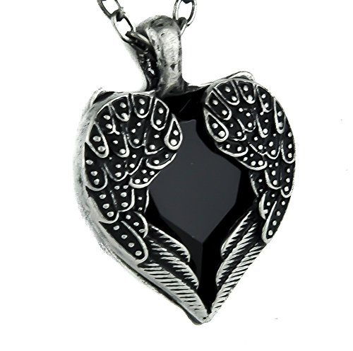 Dark Angel Necklace Gothic Pendant