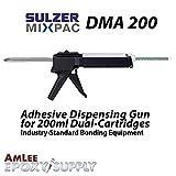 Sulzer MixPac DMA200 Dispensing Gun for 200ml/6.8oz Epoxy & Adhesive Cartridges (1:1 Ratio)