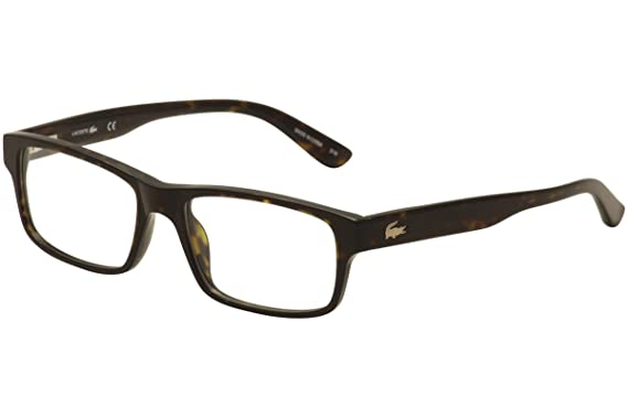77c2acd58d0 Amazon.com  Lacoste Eyeglasses L2705 214 Havana 53MM  Clothing