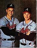 Tom Glavine and Steve Avery Signed - Autographed