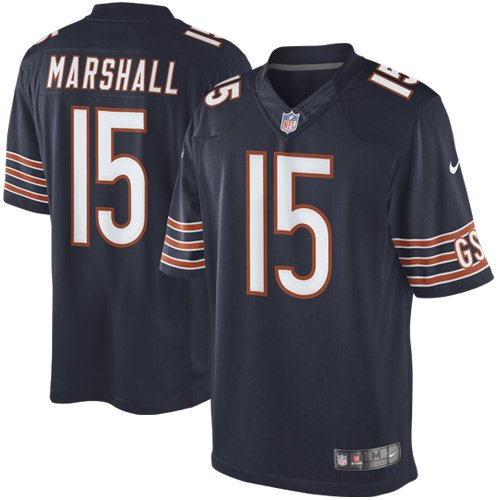 c587f69c3 Amazon.com   Nike Men s Brandon Marshall Chicago Bears Limited Jersey    Sports Fan Apparel   Sports   Outdoors