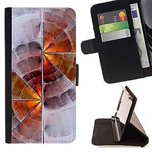 Soft Wood Digital Art - Modelo colorido cuero de la carpeta del tirón del caso cubierta piel Holster Funda protecció Para Sony Xperia Z3 D6603