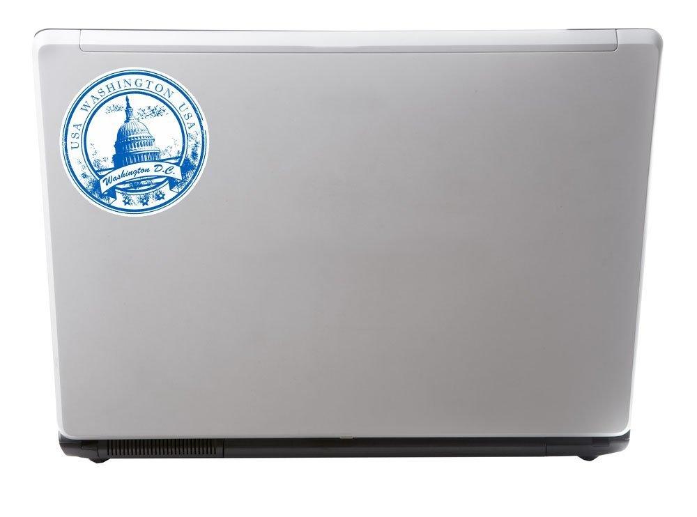 2 x 15cm//150mm Washington D.C Vinyl Selbstklebende Sticker Aufkleber Laptop Reisen Gep/äckwagen Cool Zeichen Spa/ß #5752
