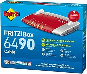 Avm Fritz Box 6490 Cable Wlan Ac Test Besser Als Die Standard