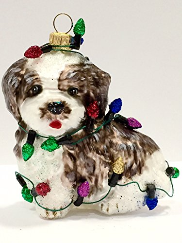 Ornaments to Remember: SHIH TZU (Christmas Lights) Christmas Ornament