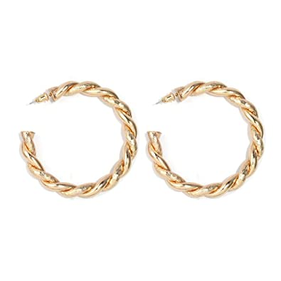 ec2ecc894ac4c Artilady Large Hoop Earrings for Women - Big Hoop Earrings Statement  Earrings, Great for Lover, Sister and Friend …