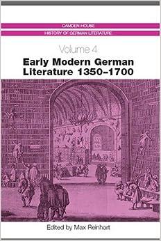 Descargar Torrent El Autor Early Modern German Literature 1350-1700 (4) Kindle Paperwhite Lee Epub